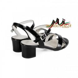 Čierne dámske sandále 1121 ZODIACO, Čierna, 40 #2