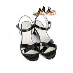 Čierne dámske sandále 1121 ZODIACO, Čierna, 40 #3