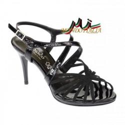 Čierne dámske sandále 879 ZODIACO, Čierna, 40