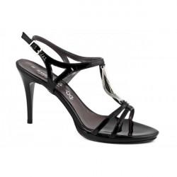 Čierne dámske sandále 880 ZODIACO, Čierna, 38