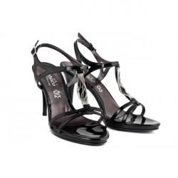 Čierne dámske sandále 880 ZODIACO, Čierna, 38 #1