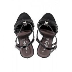 Čierne dámske sandále 880 ZODIACO, Čierna, 38 #4