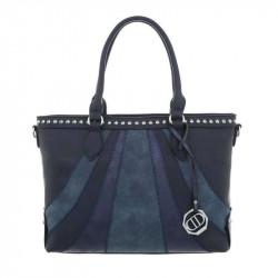Dámska kabelka 27 modrá, modrá