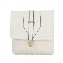 Dámska kabelka na rameno 124 béžová Jerry, Béžová