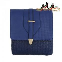 Dámska kabelka na rameno 124 modrá  124