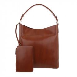 Dámska kabelka na rameno 1283 hnedá, hnedá