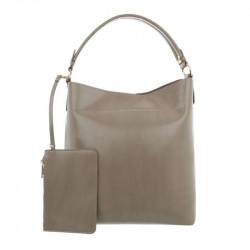 Dámska kabelka na rameno 1283 šedá, šedá