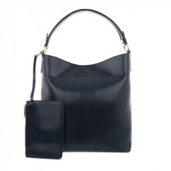 Dámska kabelka na rameno 1283 tmavomodrá, modrá