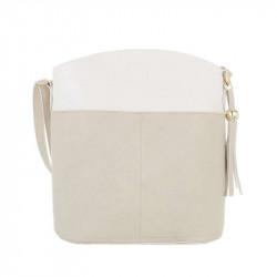 Dámska kabelka na rameno 1490 béžová DUDLIN, béžová