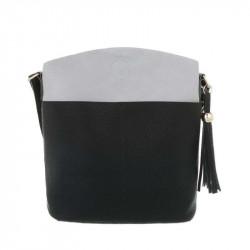Dámska kabelka na rameno 1490 čierna DUDLIN, čierna