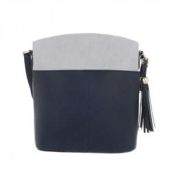 Dámska kabelka na rameno 1490 modrá DUDLIN, modrá