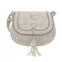 Dámska kabelka na rameno 28 šedá, šedá