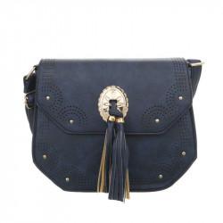 Dámska kabelka na rameno 39 modrá, modrá
