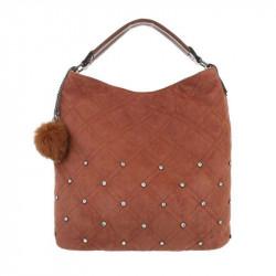 Dámska kabelka na rameno 5013 hnedá, hnedá