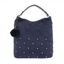 Dámska kabelka na rameno 5013 modrá, modrá