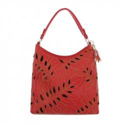 Dámska kabelka na rameno 5067 červená 044301324b9