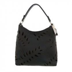 Dámska kabelka na rameno 5067 čierna, čierna