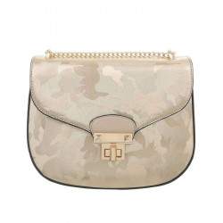 Dámska kabelka na rameno 5069 zlatá, zlatá