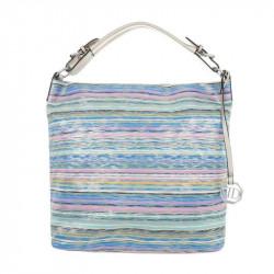 Dámska kabelka na rameno 5070 modrá, modrá
