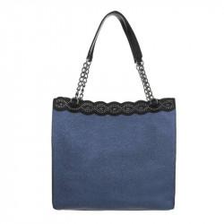 Dámska kabelka na rameno 5072 modrá