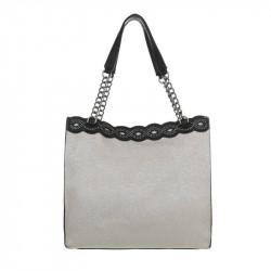 Dámska kabelka na rameno 5072 šedá, šedá