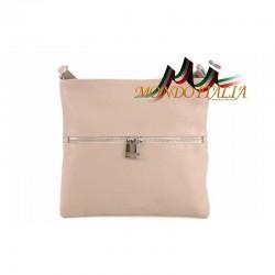 Dámska kožená kabelka 147 ružová MADE IN ITALY 147 333fc931c8d