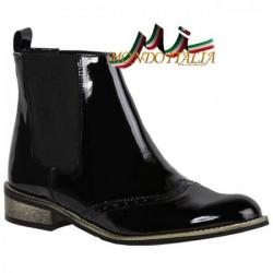 Dámska kožená obuv 241 Loretta Vitale, Čierna, 36