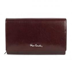 Dámska kožená peňaženka 1095 PIERRE CARDIN, Hnedá
