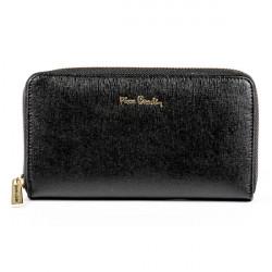 Dámska kožená peňaženka 1180A PIERRE CARDIN, Čierna