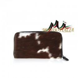 Dámska kožená peňaženka 509 hnedá MADE IN ITALY 509