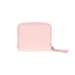 Dámska kožená peňaženka 571 ružová, Ružová