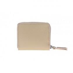Dámska kožená peňaženka 571 šedohnedá, Šedohnedá