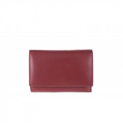 Dámska kožená peňaženka 597 bordová, bordová
