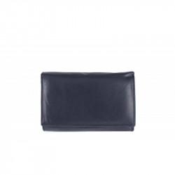 Dámska kožená peňaženka 597 modrá, modrá
