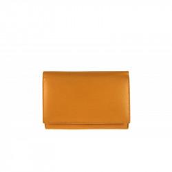 Dámska kožená peňaženka 597 okrová, okrová