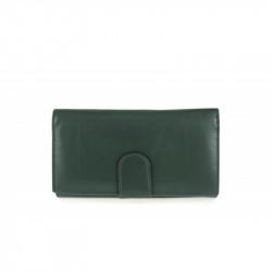 Dámska kožená peňaženka 654 zelená