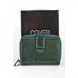 Dámska kožená peňaženka 814 zelená Coveri World, Zelená