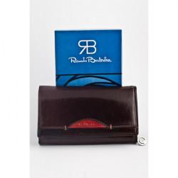 Dámska kožená peňaženka 826 hnedá Renato Balestra, Hnedá