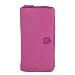 Dámska kožená peňaženka 869 ružová Le Torri, Ružová
