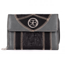 Dámska kožená peňaženka 991 Renato Balestra, Čierna