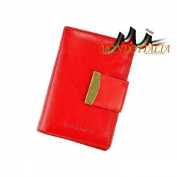 Dámska kožená peňaženka RONALDO 369B červená RONALDO