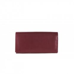 Dámska kožená peňaženka TONY 655 bordová, bordová