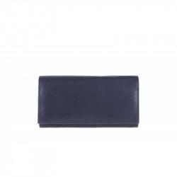 Dámska kožená peňaženka TONY 655 modrá, modrá
