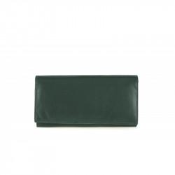 Dámska kožená peňaženka TONY 655 zelená, zelená