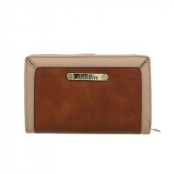 Dámska peňaženka 1179 hnedá DUDLIN, hnedá