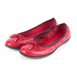 Dámske baleríny 1102 červené THE FLEXX, Červená, 40 #1