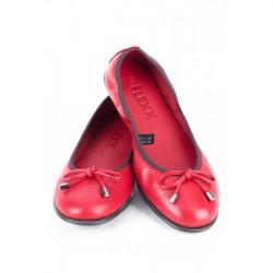 Dámske baleríny 1102 červené THE FLEXX, Červená, 40 #2