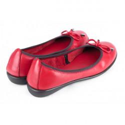Dámske baleríny 1102 červené THE FLEXX, Červená, 40 #3