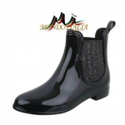 Dámske gumáky 106 čierne, Veľkosť obuvi 38, Farba čierna #1