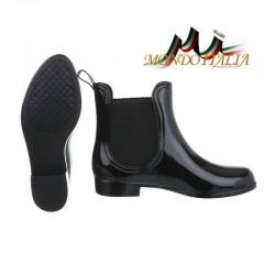 Dámske gumáky 106 čierne, Veľkosť obuvi 38, Farba čierna #3